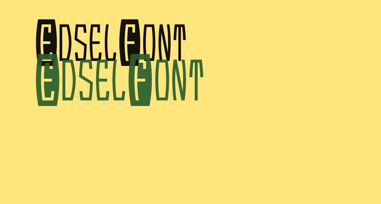EdselFont