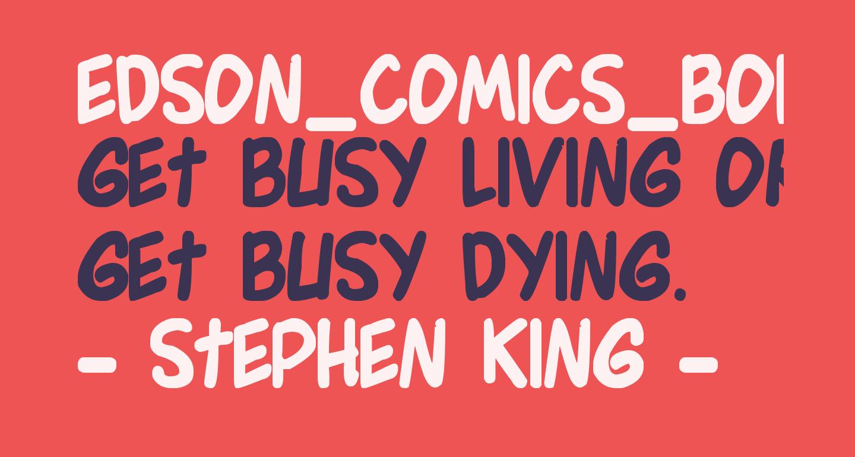 Edson_Comics_Bold Bold