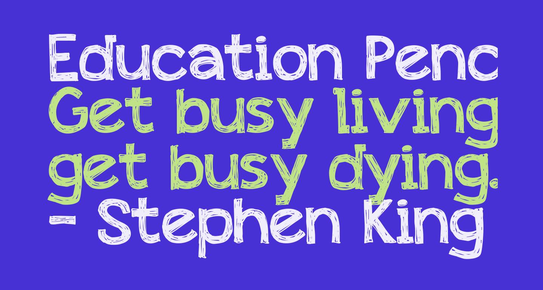 Education Pencil
