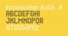 Eenvoudige Batik  Regular