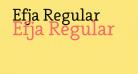 Efja Regular