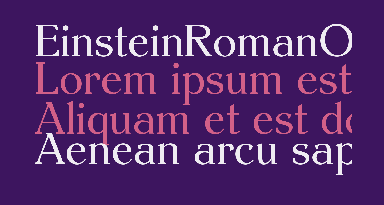 EinsteinRomanOpti