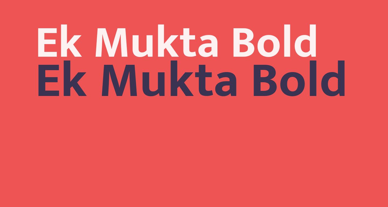 Ek Mukta Bold