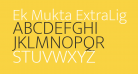 Ek Mukta ExtraLight