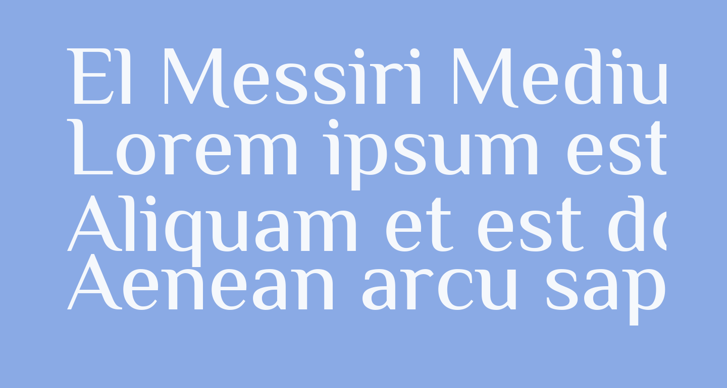 El Messiri Medium