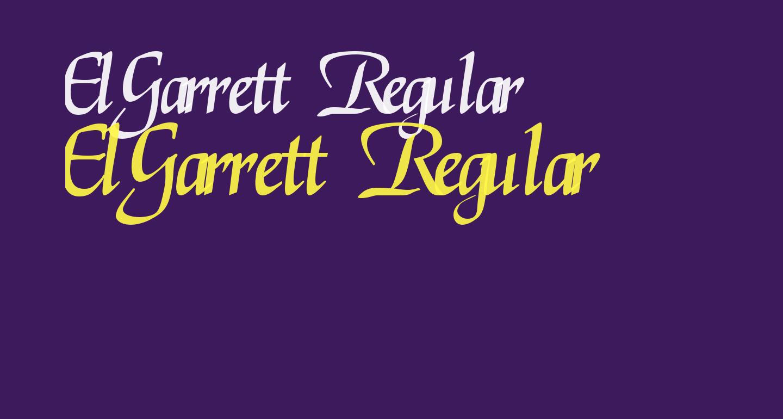 ElGarrett Regular