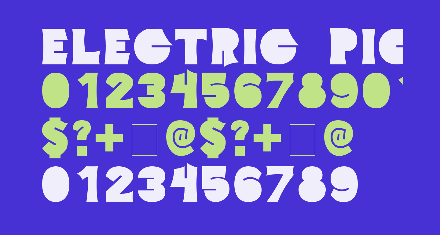 Electric Pickle Bold