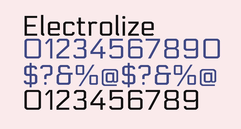 Electrolize