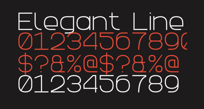 Elegant Line 7