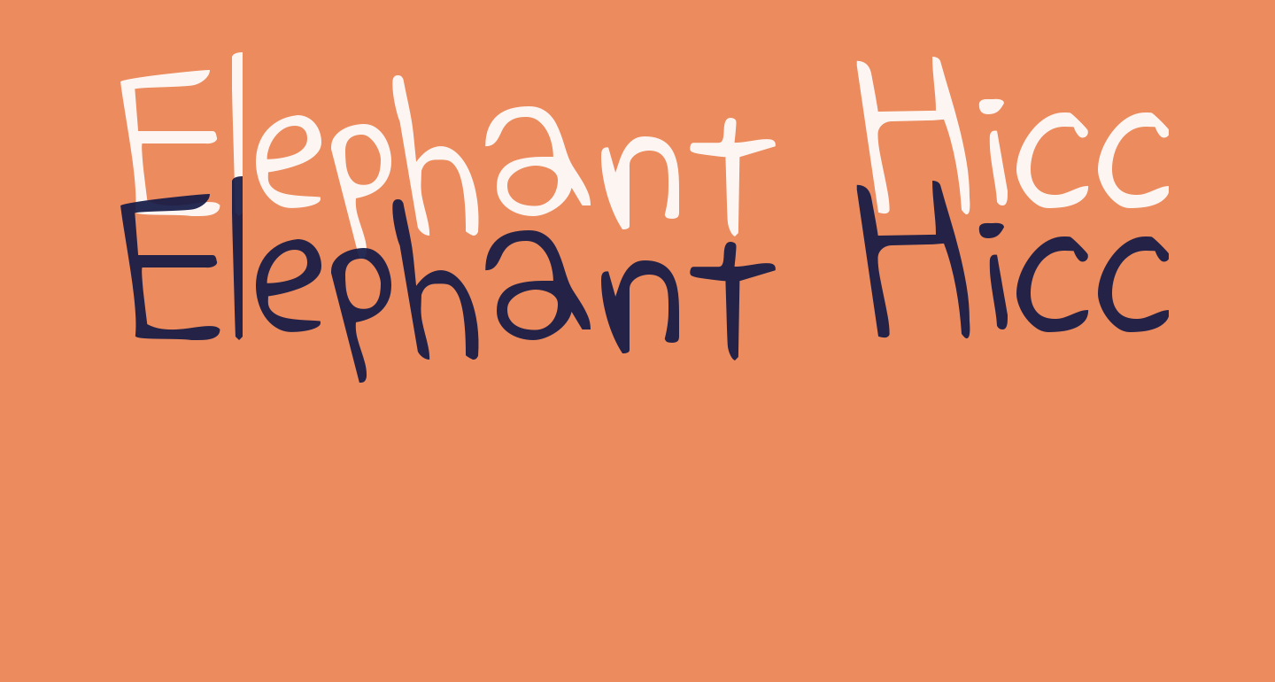 Elephant Hiccups
