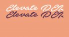 Elevate PERSONAL USE ONLY