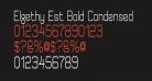 Elgethy Est Bold Condensed