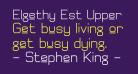 Elgethy Est Upper Bold