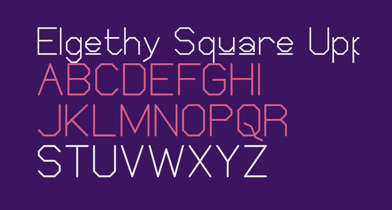 Elgethy Square Upper
