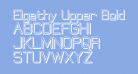 Elgethy Upper Bold Offset