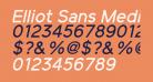 Elliot Sans Medium Italic