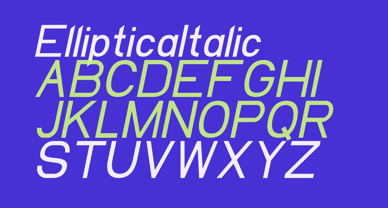 EllipticaItalic