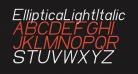 EllipticaLightItalic