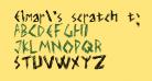 Elmar's scratch type