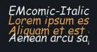 EMcomic-Italic