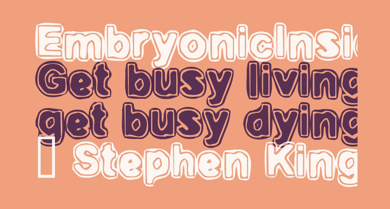 EmbryonicInside