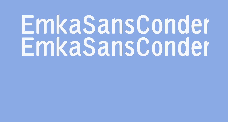 EmkaSansCondensed-Bold