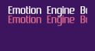 Emotion Engine Bold