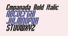 Empanada Bold Italic