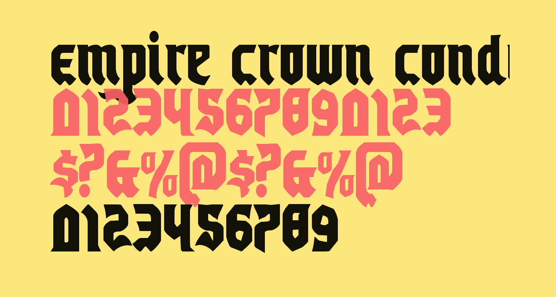 Empire Crown Condensed