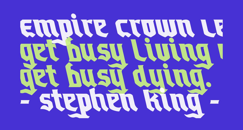 Empire Crown Leftalic
