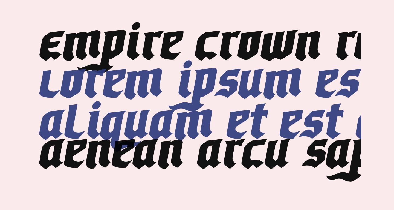 Empire Crown Rotalic