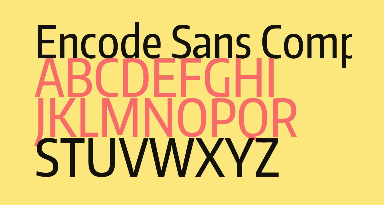 Encode Sans Compressed Medium