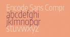 Encode Sans Compressed Thin