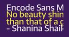 Encode Sans Medium