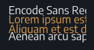 Encode Sans Regular