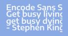 Encode Sans Semi Expanded SemiBold