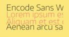 Encode Sans Wide Thin