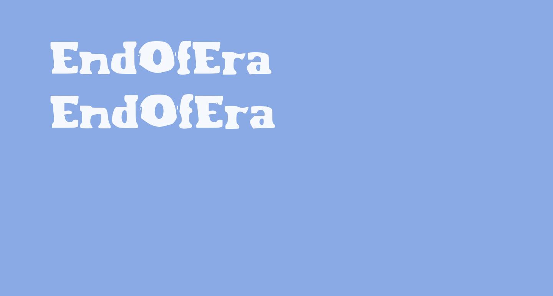 EndOfEra