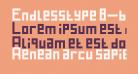 Endlesstype 8-bit Regular