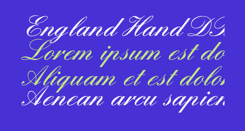 England Hand DB