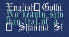 English-Gothic-17th-c-