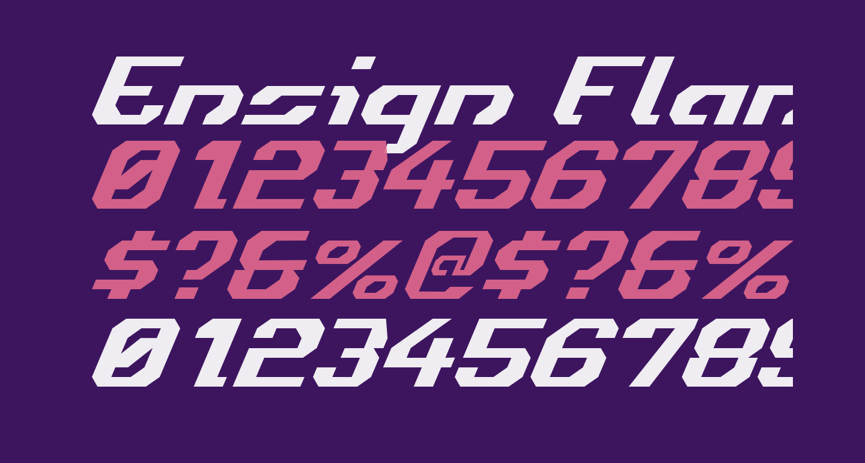 Ensign Flandry Italic