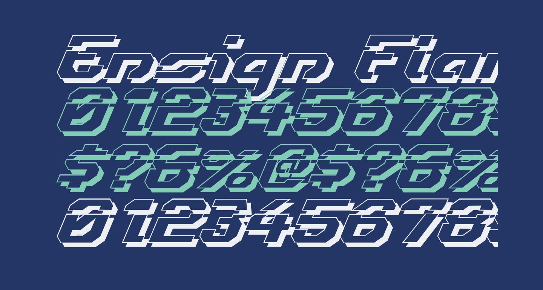 Ensign Flandry LasShad Italic