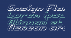 Ensign Flandry Shadow Italic
