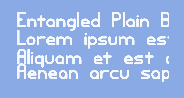 Entangled Plain BRK