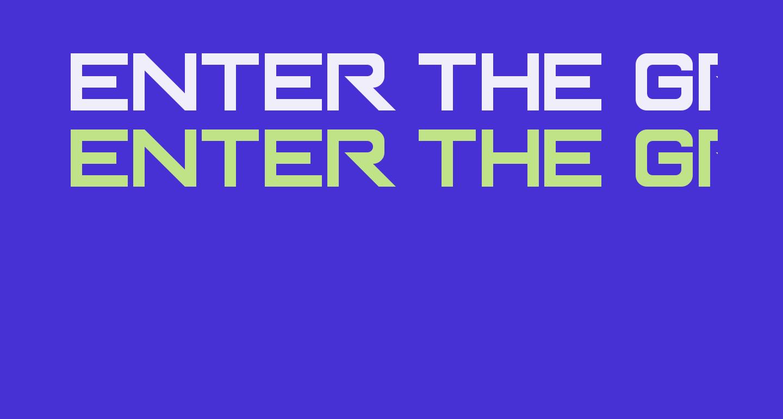 Enter The Grid Regular