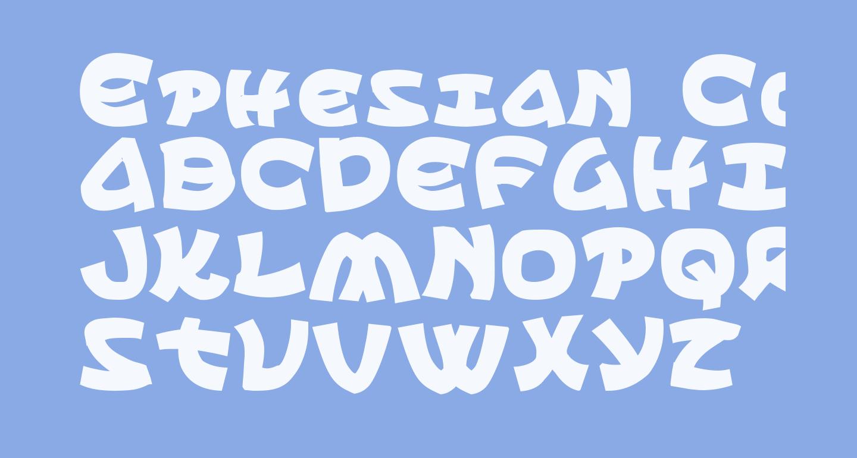 Ephesian CondBold