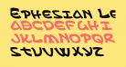 Ephesian Leftalic