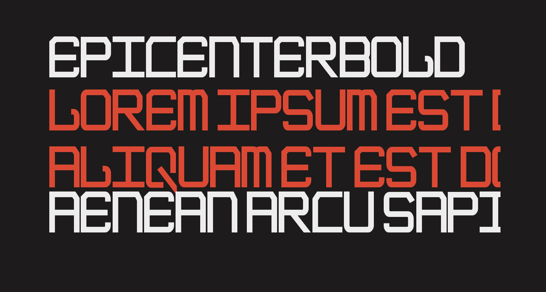 EpicenterBold