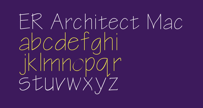ER Architect Mac